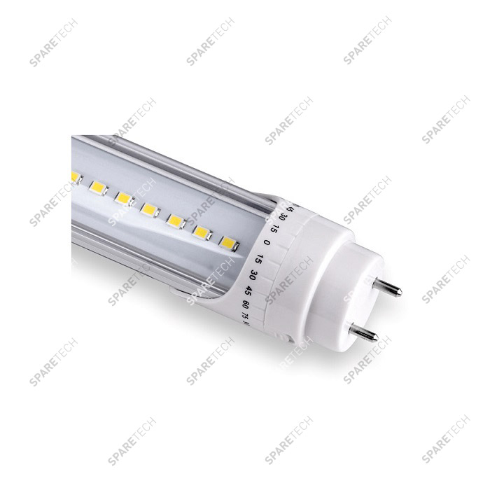 Tube néon LED cold blanc 60cm 9W, 220 V, 6500K