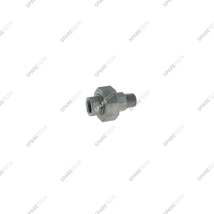 Raccord union conique inox MF1/4""