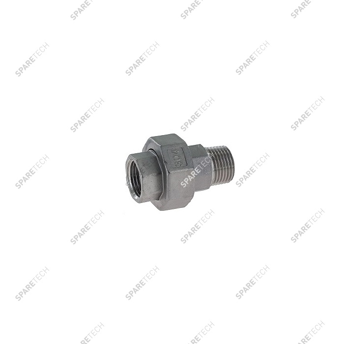 Raccord union conique inox MF1/2""